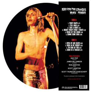 Iggy & The Stooges - More Power (Picture Disc LP)