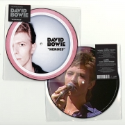 "David Bowie - Heroes: 40th Anniversary Edition (Picture Disc 7"" Vinyl Single)"