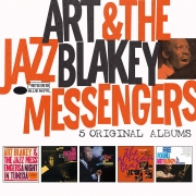 Art Blakey - 5 Original Albums (5CD Box Set)