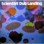 Scientist ‎- Dub Landing (LP+CD)