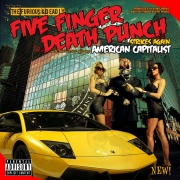 Five Finger Death Punch - American Capitolist (CD)